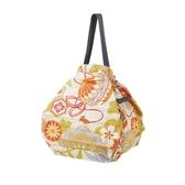 【Shupatto】 輕巧秒收環保袋(M/和風菊) 2019新款 折疊收納 大容量 環保袋 購物袋  日本MARNA