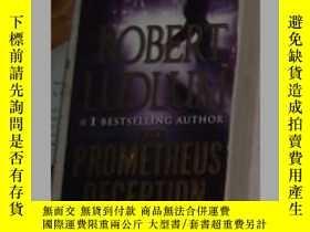二手書博民逛書店英文原版罕見The Prometheus Deception b
