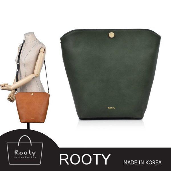 【韓國直送】側背包 韓國Rooty 蘿拉時尚皮革質感肩背包 斜背包 No.R399