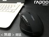 【雷柏 RAPOO】7300光學滑鼠長達六個月的電池壽命雙邊防滑設計零延遲2.4G高速滑鼠無線滑鼠鼠標