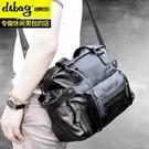 手提包迪賽佰格手提包男包休閒旅行包大韓版潮商務男士包包單肩包斜挎包 新品