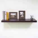 層板 (胡桃木色90cm 附托架) /壁板/層架/掛牆書架/壁架/置物架/棚板/掛壁式/收納架/ &DIY組合傢俱