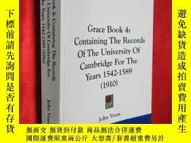 二手書博民逛書店Grace:罕見Containing the Records o