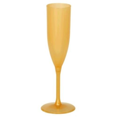 塑膠高腳杯1入-金