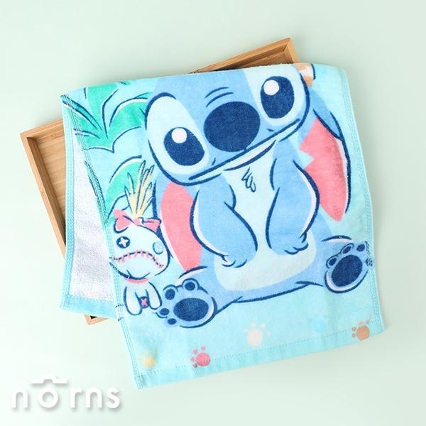 星際寶貝史迪奇純棉童巾- Norns 正版授權 迪士尼Stitch 吸水毛巾 卡通毛巾 100%純棉