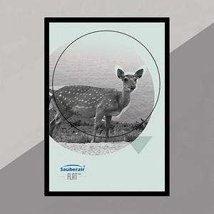 FLAT畫框黑框梅花鹿(需搭FLAT清淨機)