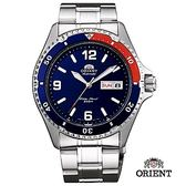 ORIENT 東方錶 WATER RESISTANT系列 200m潛水機械錶 鋼帶款 藍色 FAA02009D - 41.5 mm