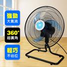 皇瑩 16吋 360度外旋式循環桌扇(HY-168R)