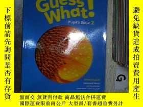 二手書博民逛書店GUESS罕見WHAT Pupils Book2 猜猜什麽學生預定2Y261116