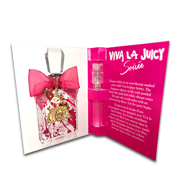 Juicy Couture Viva La Juicy Soiree千面女郎女性淡香精 針管 1.5ml【UR8D】