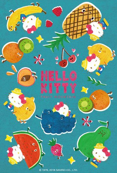 【拼圖總動員 PUZZLE STORY】Hello Kitty水果大冒險-外太空 PuzzleStory/三麗鷗 x 咚東/繪畫/70P