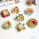 卡通餅干模具 蔬菜水果切模 壓花器曲奇模蝴蝶面模蛋糕烘焙模具 zh5013『東京潮流』