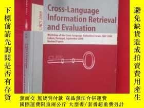二手書博民逛書店Cross-Language罕見Information Retr