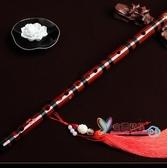 笛子 直笛竹笛樂器兒童初學專業演奏苦竹笛成人自學精製高檔笛子女古風 5色T