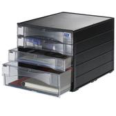 【SDI】NO.1848N A4 黑桌上型四層資料櫃