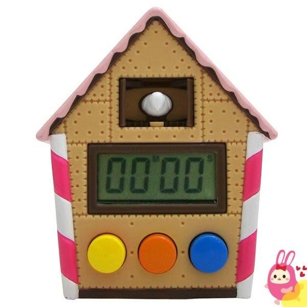 Hamee 日本 童話糖果屋 鴿子時鐘 可愛造型 料理 烘焙 運動 計時器 定時器 啾啾鳥 741609