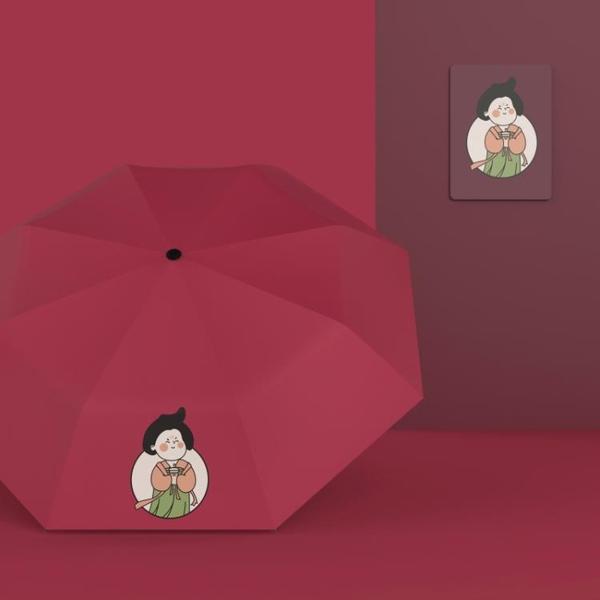 國風傘女晴雨兩用古風防曬