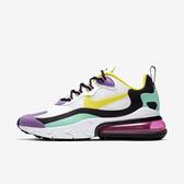 Nike W Air Max 270 React [AT6174-101] 女鞋 運動 休閒 氣墊 避震 舒適 白黃