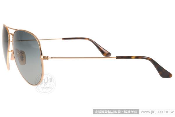 RayBan 太陽眼鏡 RB3025 18171 -58mm (金) 全球熱銷飛官款 # 金橘眼鏡