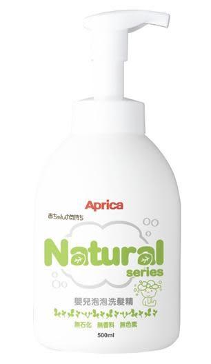 ★優兒房☆ Aprica 自然系列 嬰兒泡泡洗髮精 500ml