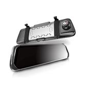 全視線35 GPS測速 流媒體1080P雙控式電子後視鏡行車記錄器(送32G TF卡)