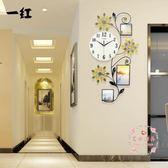 掛鐘 時鐘 歐式 簡約大氣裝飾靜音石英鐘(夜光款)