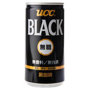 日本 UCC Black 無糖黑咖啡 185g 上島珈琲