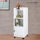 【米朵Miduo】單門塑鋼置物收納櫃 餐櫃 碗盤櫃 活動櫃(寬41.5X深47X高119.5公分)