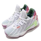 adidas 籃球鞋 Dame 7 J 白 紫 童鞋 女鞋 大童 玩具總動員 巴斯光年 運動鞋【ACS】 FY4924