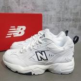 【iSport愛運動】New Balance 復古 老爹鞋 公司正品 WX608WT 男女款 白