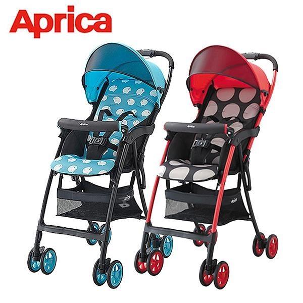 【南紡購物中心】【Aprica 愛普力卡】最輕量單向四輪嬰幼兒手推車 Magical Air S 高視野