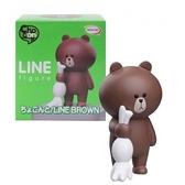 TOUCH-KR 日本正品 LINE FRIENDS 玩具公仔 含底座│熊大 兔兔│z6899