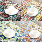 桌巾北歐波西米亞桌布布藝文藝防水防燙餐桌書桌茶幾布長方形臺布桌巾  貝兒鞋櫃