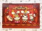 【震撼精品百貨】 Bunny King_邦尼國王兔~香港邦尼兔3D塑膠餐墊-紅#72213