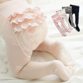 韓國甜美蕾絲全包止滑褲襪 童襪 止滑襪 褲襪
