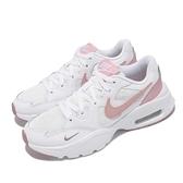 Nike 休閒鞋 Wmns Air Max Fusion 白 粉紅 氣墊 女鞋 增高厚底【ACS】 CJ1671-107