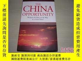 二手書博民逛書店THE罕見CHINA OPPORTUNITY 中國的機會Y184