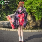 洛麗塔洋裝動漫cosplay服裝櫻花和服女仆裝【步行者戶外生活館】