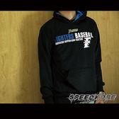 創信MLB 秋冬服飾 厚長袖棉T 帽T 火腿隊 #1 陽岱鋼 雙排LOGO 黑 #1460101-900 ☆speedkobe☆