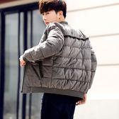 年終9折大促 棉衣男士冬季外套新款青年韓版休閒男裝羽絨棉服加厚棉襖棒球服潮