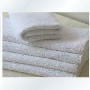 美容院 洗浴 75*33 純白毛巾 純棉 廠家直銷 100g 10條裝
