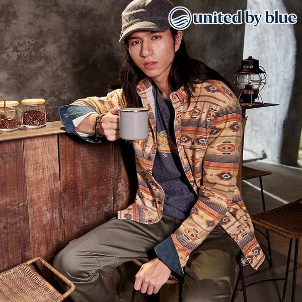 United by Blue 男棉絨長袖襯衫 101-078 Blockfield Flannel Shirt / 城市綠洲 (有機棉、環保、無化學物)