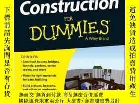二手書博民逛書店Minecraft罕見Construction For Dummies, Portable EditionY4