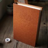 我們的故事 復古皮革傳統插袋式5寸相冊 插頁影集寶寶家庭相冊本 智慧e家