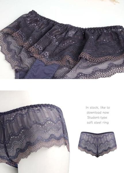 內褲/ 無痕蕾絲三角內褲 小百合 U7290台灣製