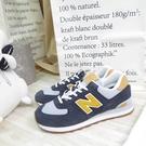 New Balance NB574 復古運動鞋 休閒鞋 D楦 ML574NA2 男款 藍灰 大尺碼【iSport愛運動】