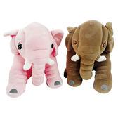 可愛大象抱枕 小象毛絨玩具 毛絨娃娃 (購潮8)