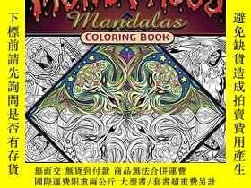 二手書博民逛書店Monstrous罕見Mandalas Coloring BookY360448 Cristina McAll
