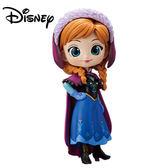 深色款【日本正版】Q posket 安娜 公仔 冰雪奇緣 Anna 模型 迪士尼 萬普 Banpresto - 355048