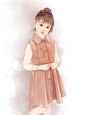 毛呢吊帶洋裝 5女童冬裝3毛呢背心裙7歲小女孩洋氣呢子馬甲裙公主冬季裙子8秋冬 小天後